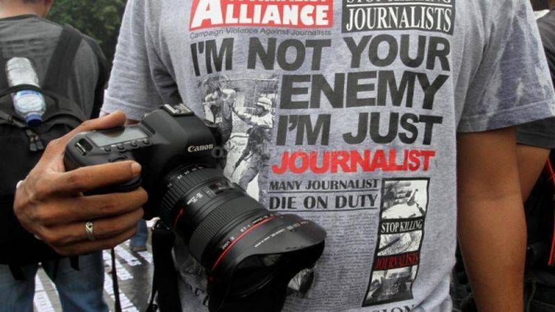 Jurnalis Lampung Tengah diusir anggota dewan saat hendak meliput rapat dengar pendapat di kantor DPRD setempat (Ilustrasi). | okezone.com