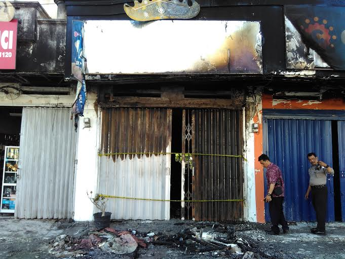 Kebakaran Toko Elektronik di Bandar Lampung Telan Kerugian Hingga Ratusan Juta