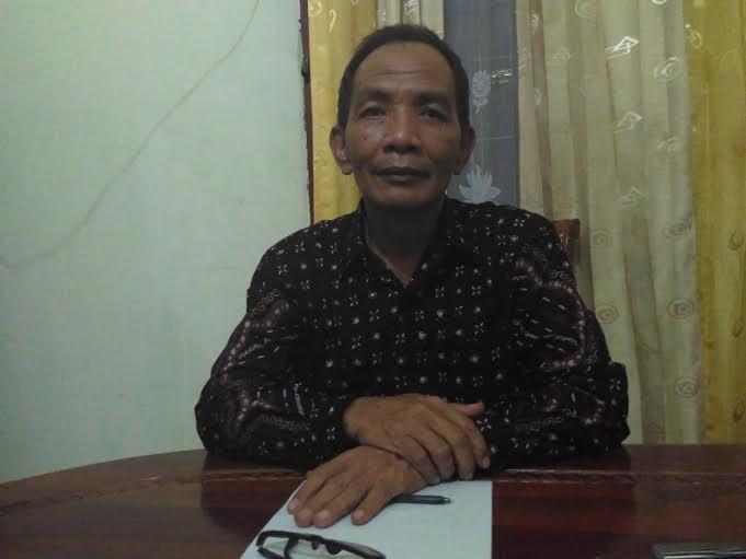 Kepala SMPN 1 Tulang Bawang Udik, H Slumun, S.Pd. | Buhairi/Jejamo.com