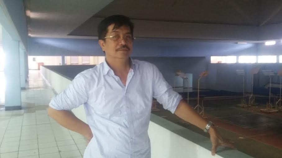 Kabid Binpres KONI Lampung, Julian Manaf. | Arif Wiryatama/Jejamo.com