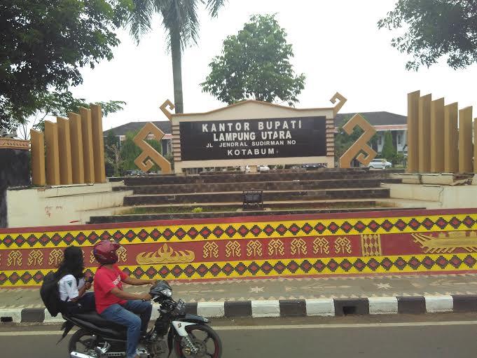 Kantor Bupati Lampung Utara. | Buhairi Aidi/Jejamo.com