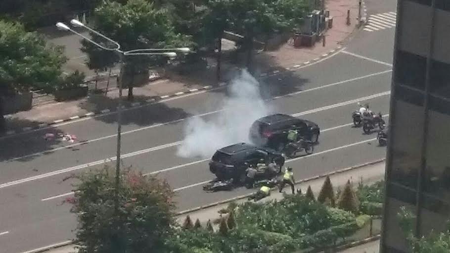Terjadi Aksi Kejar-kejaran dan Baku Tembak di Sarinah Jakarta Pusat