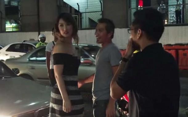 Mobil Ditabrak Maria Ozawa Pria Ini Malah Cengengesan