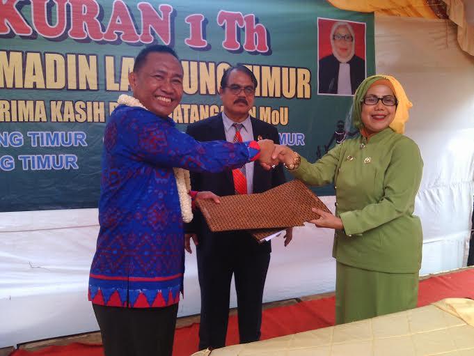 Berikan Perlindungan Hukum, Advokat dan Pemkab Lampung Timur Tandatangani MoU