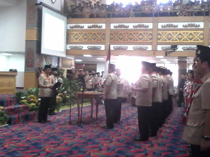 Ka Kwarnas Adhyaksa Dault Sebut Ridho Ficardo Mirip Soekarno