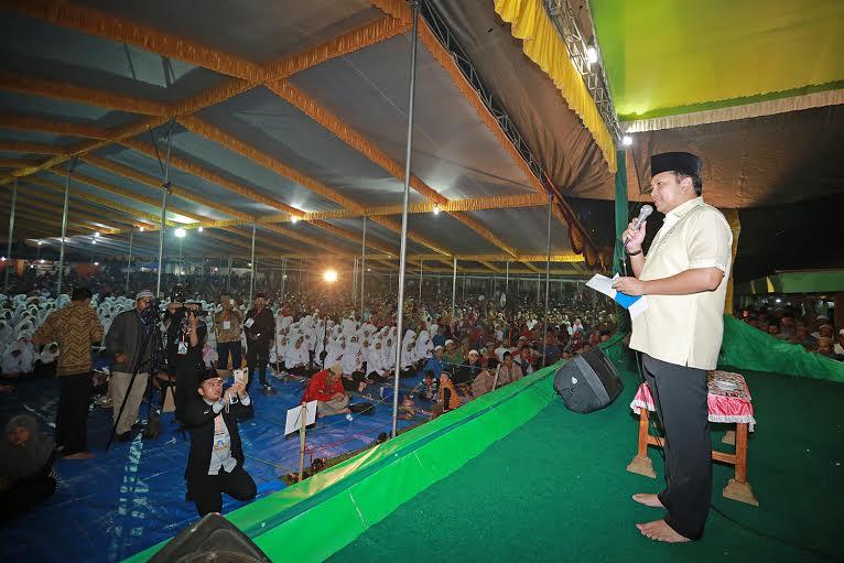 30 Ribuan Jemaah Doakan Kelancaran Pembangunan Lampung