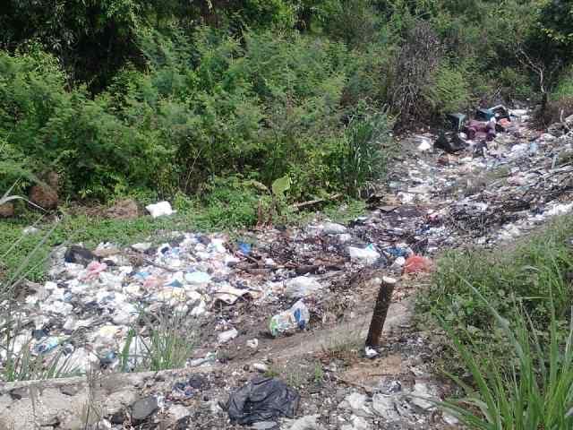 Buang Sampah Sembarangan Jadi Budaya di Kotabumi Lampung Utara