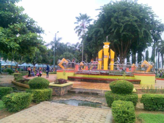 Taman Santap Lampung Utara. | Buhairi/Jejamo.com