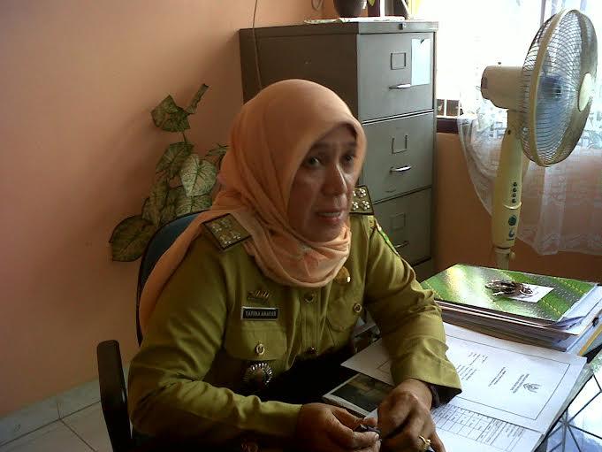 Kasubid Ormas dan Sosial Kemasyarakatan,Tavina Aravah. | Widyaningrum/Jejamo.com