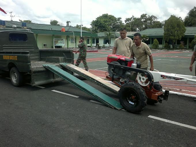 Kodim 0411/LT Siapkan Alat Mesin Pertanian untuk Poktan