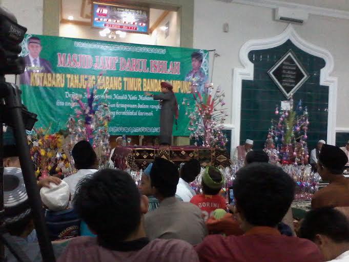 Ustaz Mumuy Ingatkan Orang Tua di Lampung untuk Didik Anak dengan Baik