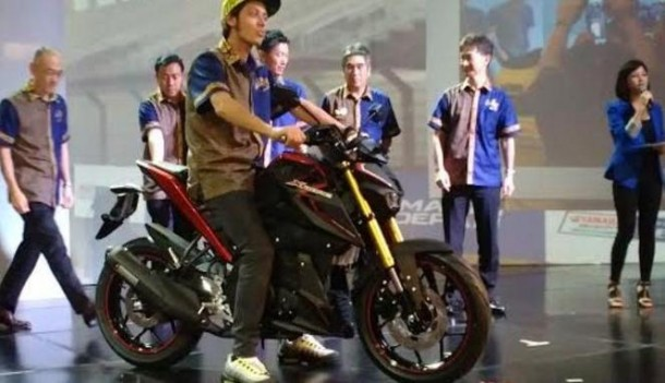 Peluncuran Yamaha Xabre di Bali Hadirkan Valentino Rossi