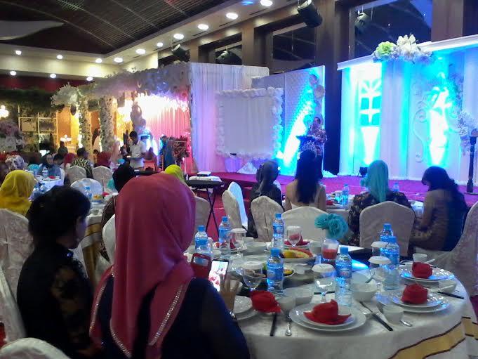 Wedding Expo 2016 di Hotel Horizon Bandar Lampung, Jumat, 15/1/2016. | Sigit Sopandi/Jejamo.com