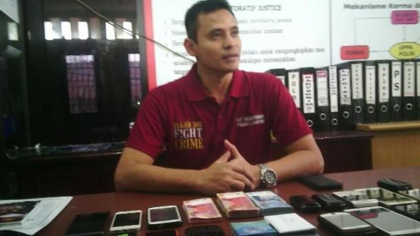 Kasubdit IV Renakta Polda Lampung Ajun Komisaris Ferdyan Indra Fahmi. | Andi Apriyadi/Jejamo.com