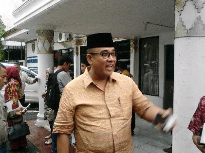 Anggota DPD RI asal Lampung Andy Surya | Sugiono/jejamo.com