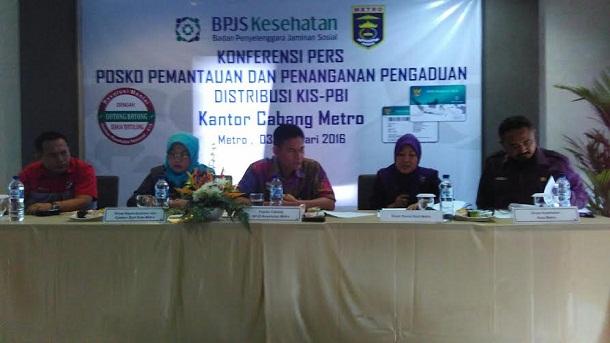 BPJS Metro Sosialisasikan Posko Pemantau dan Pengaduan KIS-PBI