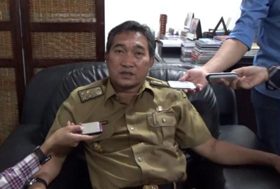 Sekretaris Kota Bandar Lampung Badri Tamam. | Sigit Sopandi/Jejamo.com