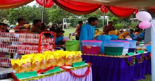 Dinas Pendidikan Lampung Tengah Dukung Bazar SMK YPI Seputihmataram