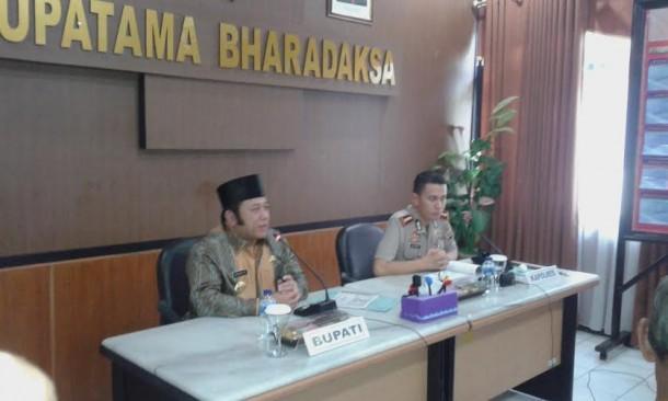 Pemkab Lampung Selatan Janji Bantu Pembangunan Polsek Way Sulan