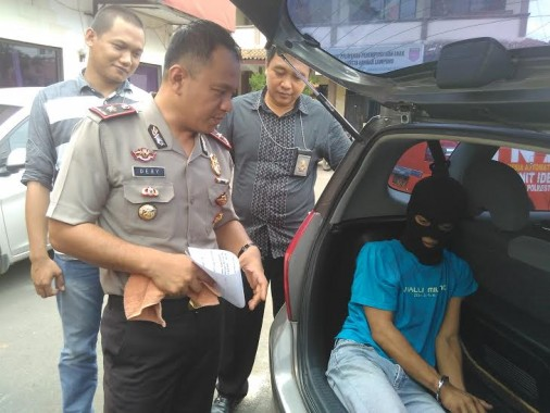 Sembunyi di Rumah Saudara, Pelaku Curanmor Diringkus Polresta Bandar Lampung