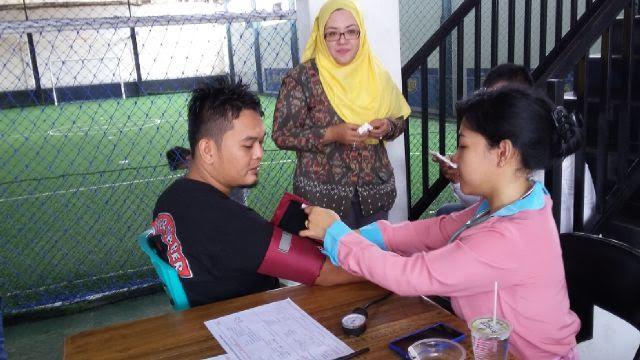 Komunitas Lampung Mari Peduli Gelar Donor Darah