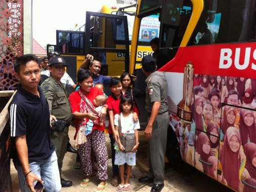 112 Orang Eks Gafatar Tiba di Lampung Utara