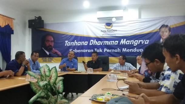 Launching program Indonesia Memanggil DPW Nasdem Lampung | Arif/jejamo.com