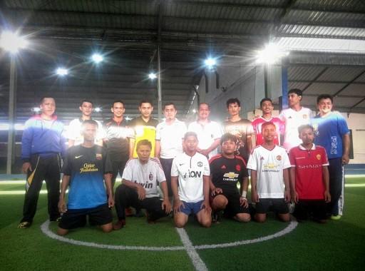 Futsal, Ketua DPD PKS Metro Ahmad Khuseini Bikin 3 Gol