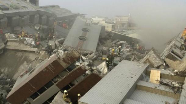 Gempa Taiwan