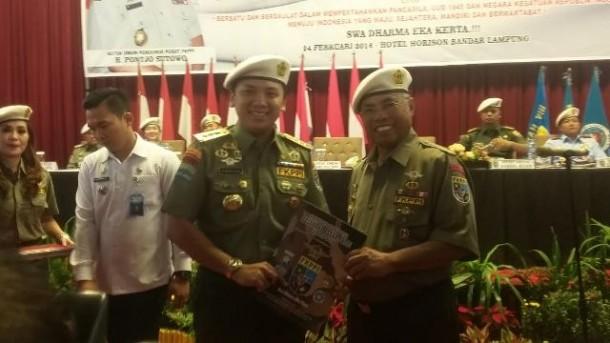 Gubernur Ridho Anggota Kehormatan FKPPI Lampung