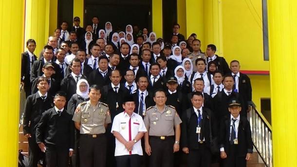 Wali Kota Bandar Lampung bersama rombongan diklat pimpinan Tingkat IV Pemerintah Daerah Kabupaten Subang | Sigit/jejamo.com