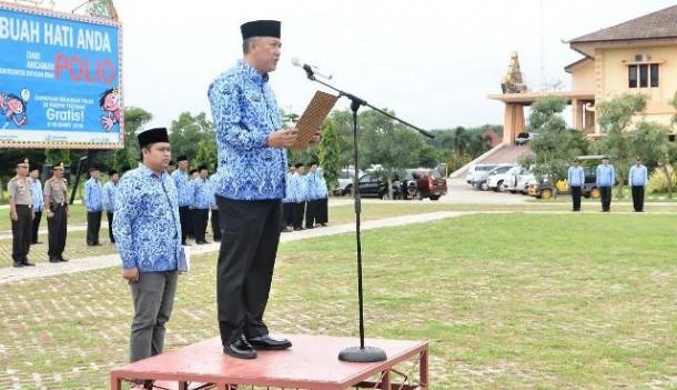 Sekretaris Daerah Kabupaten Tulangbawang Barat Herwan Sahri. | Ist