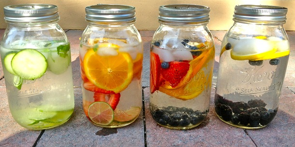 Infused water (Ilustrasi). | Ist.