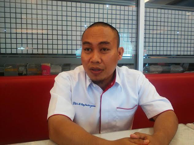Pimpinan Cabang JNE Lampung, Fikry. | Artha/Jejamo.com