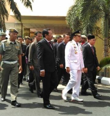 Ketua MPR dan Jaksa Agung Saksikan Adik Mereka Dilantik di Lampung