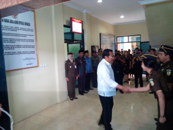Kapolda Lampung Ucapkan Selamat kepada 8 Kepala Daerah Baru Dilantik