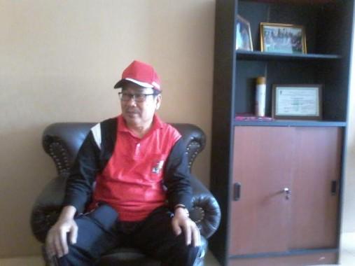 Kepala Dinas Pendapatan Daerah Lampung Utara Asmidi Ismail. Mukaddam/Jejamo.com