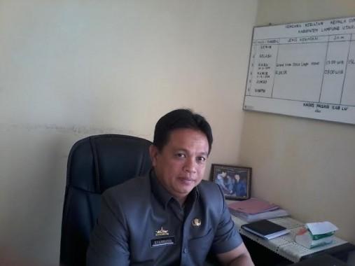 Dinas Pasar Lampung Utara akan Bentuk Kelompok di Setiap Pasar Desa