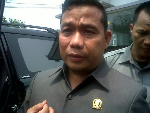 Ketua DPRD Lampung Dedy Afrizal. | Widyaningrum/Jejamo.com