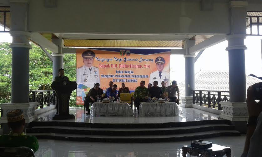 Gubernur Minta Pemkab Lampung Selatan Bersinergi Bangun Provinsi Lampung