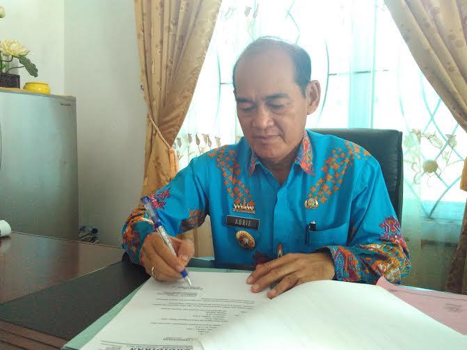 Kepala Dinas Pendidikan Lampung Utara, Adrie | Wahyu/jejamo.com