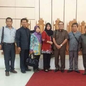 Anggota Komisi II DPRD Kota Metro saat Kunker di DPRD Makassar | Tyas/jejamo.com