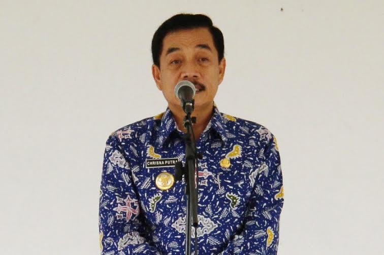 Pj) Wali Kota Metro A Chrisna Putra | Wahyu/jejamo.com