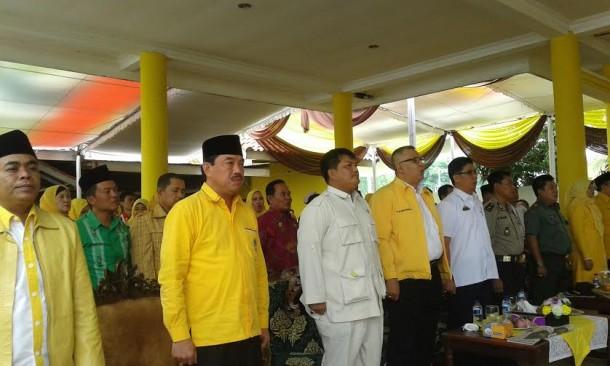 Asep Yani Terpilih Sebagai Ketua DPD Golkar Lampung Selatan