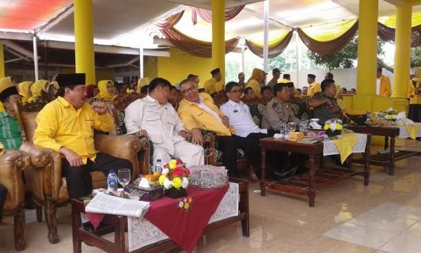 Asep Yani Akan Jadikan Lampung Selatan Lumbung Suara Golkar