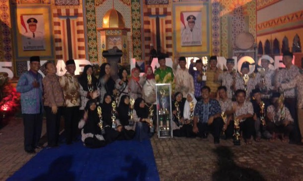 Natar juara umum Musabaqoh Tilawatil Quran ke 45 Lamsel | Heri/jejamo.com
