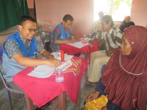 Salah satu kegiatan PKPU Lampung di Tulangbawang Barat, Minggu, 14/2/2016. | PKPU Lampung