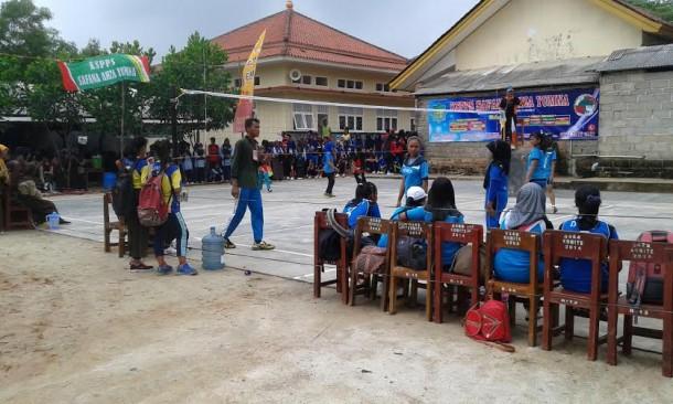 - SMK Pangudi Luhur, Kecamatan Seputihmataram, Kabupaten Lampung Tengah, menggelar acara untuk memperingati ulang tahun sekolah | Rian/jejamo.com