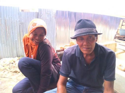 Tulijo-Tentram, Suami-Istri Penjual Daging di Tulangbawang Barat Sejak 1976