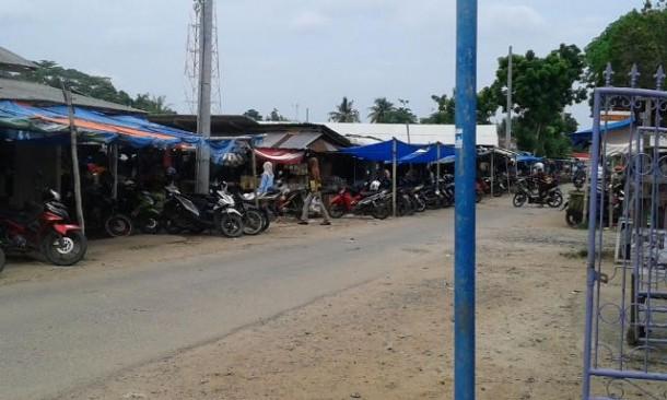 Pedagang Harap Pembangunan Pasar Pasar Merapi Lampung Tengah Cepat Selesai